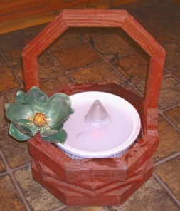 Create an indoor fountain