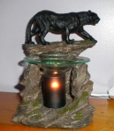 Black Panther Electric Oil Warmer lamp diffuser